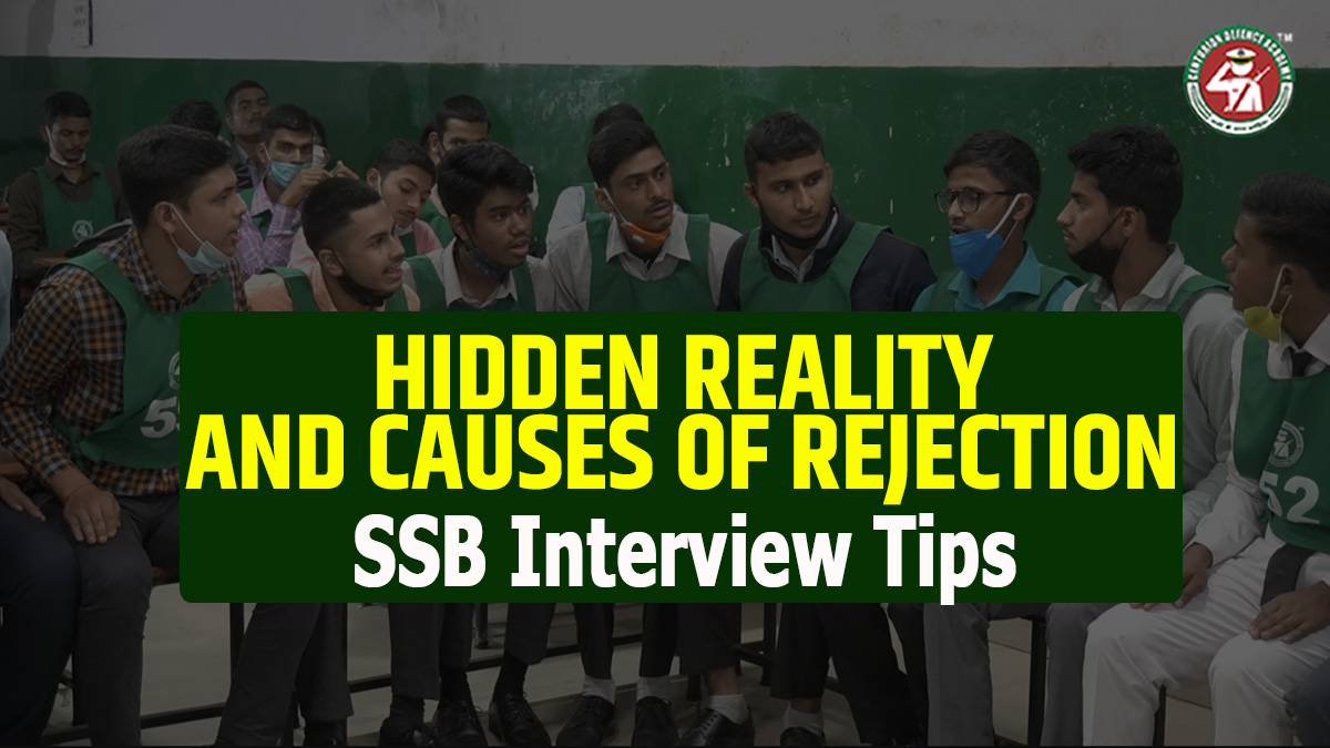 Causes of Rejection in SSB
