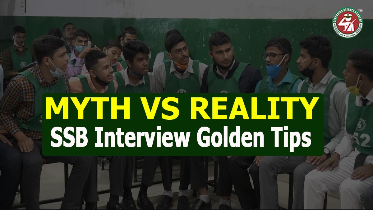 SSB Interview Golden Tips