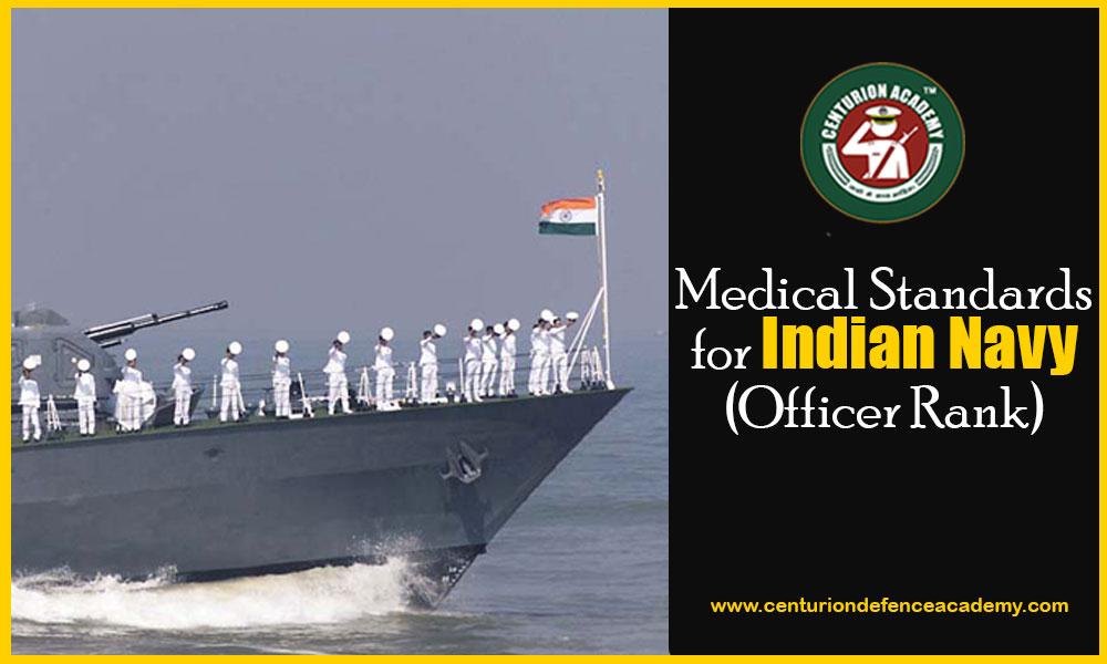 navy exam medical standard