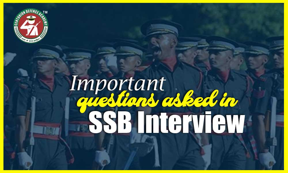 SSB Interview Questions