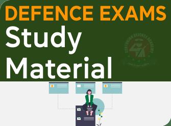 defence exam study material