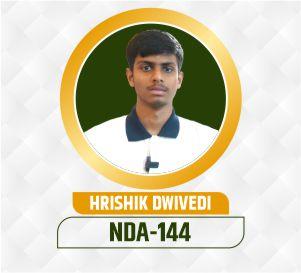 Hrishik NDA Selection