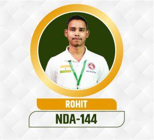 Rohit NDA Selection