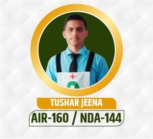 Tushar NDA Selection