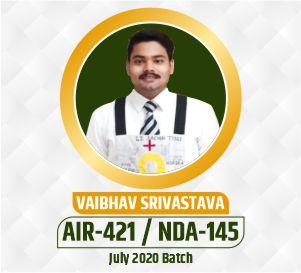 Vaibhav NDA Selection