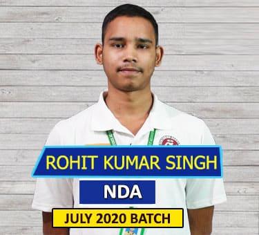 Rohit SSB NDA Selected Students