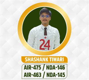 Shashank nda selection