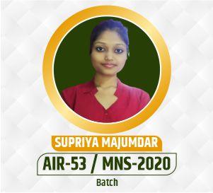Supriya MNS Selection