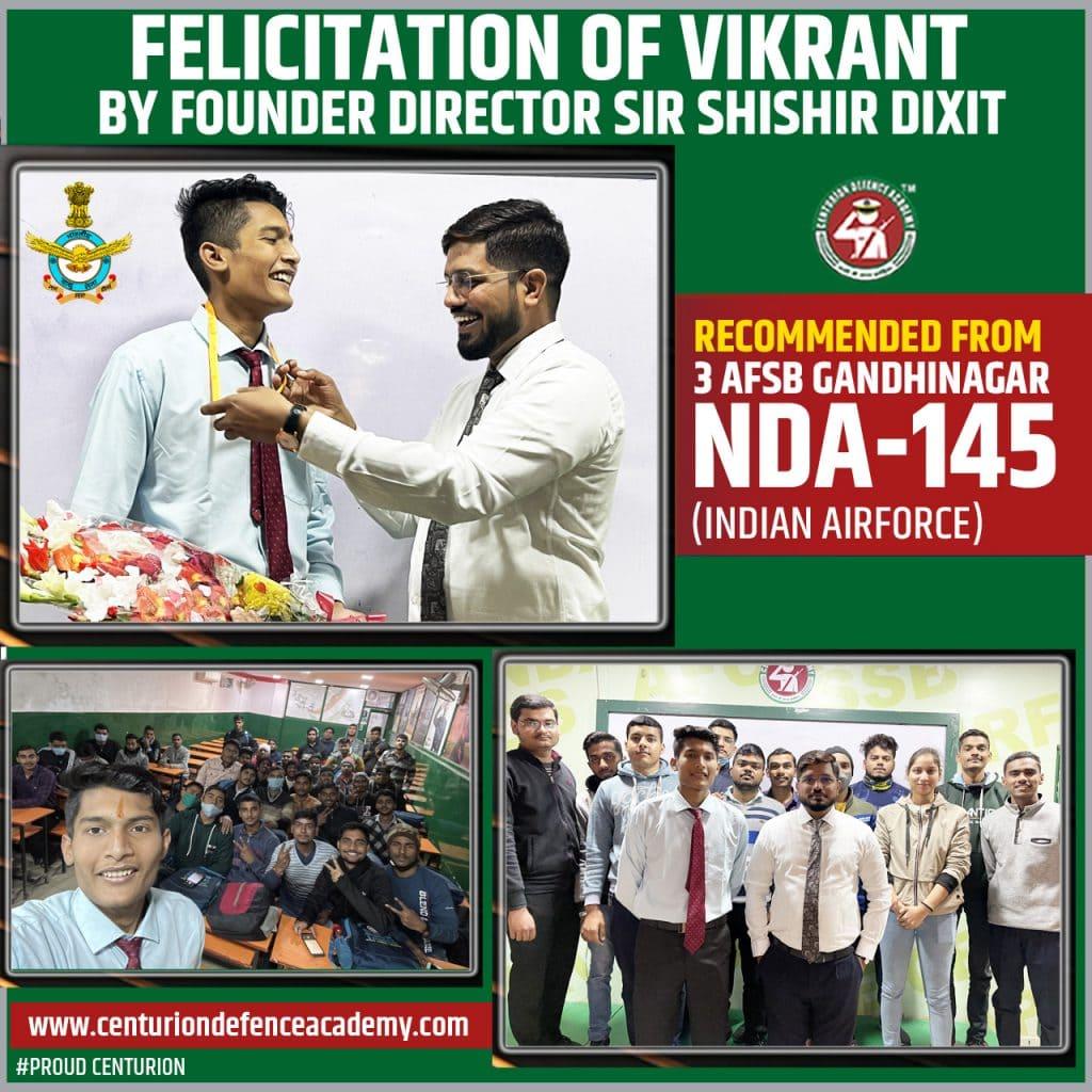 Vikrant Success Story