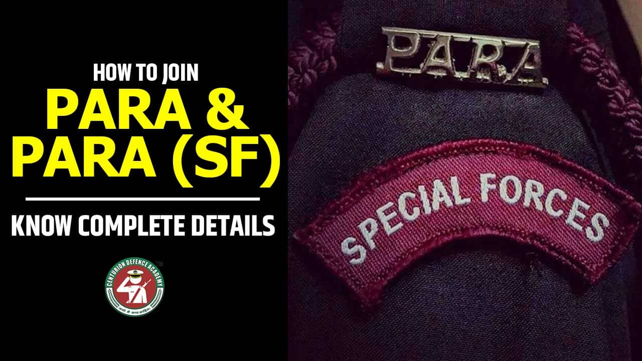 para special forces details