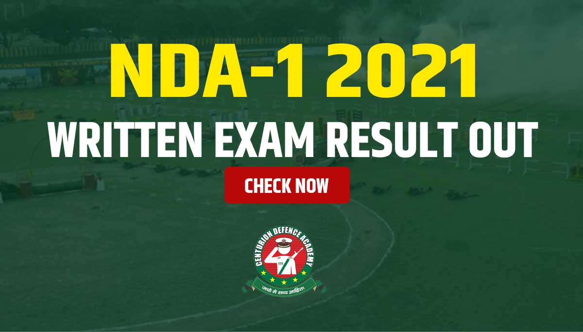 nda 1 2021 result