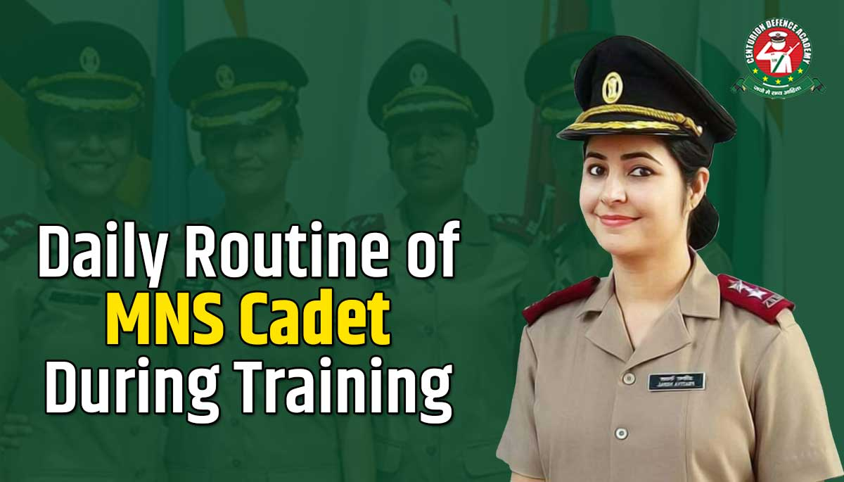 Daily Life of MNS Cadets