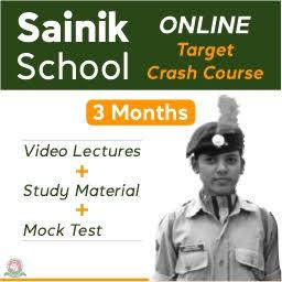 Sainik School 3 Months Online